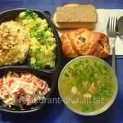 Обеды комплексные на заказ фото