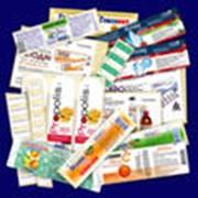 Этикетки самоклеящиеся для фармацевтики фото