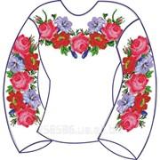 Заготовка для вышивки бисером женской блузы БЖ-4 фото
