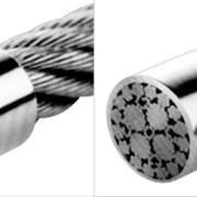 Канат ГОСТ 7668-80 двойной свивки ЛК-РО 6х36 (1+7+7/7+14)+1ос, 38,0 оц. мм фото