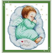 """Набор для вышивания """"Спящий ангел 1"""" R350(1) фото"""