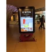 Реклама в торговых центрах на мониторах фото