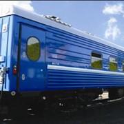 Пассажирский вагон СВ улучшенного дизайна, модель 61-537.1 фото