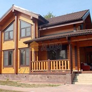 "Дом из клееного бруса ""Бограт"" фото"