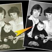 Услуги реставрации фотографий фото