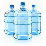 Реклама на водных бутылях фото