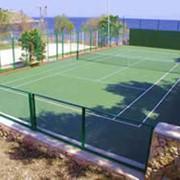 Грунтовые корты из материала «теннисит» фото