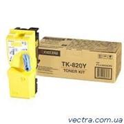 Тонер Kyocera TK-820Y (1T02HPAEU0) фото