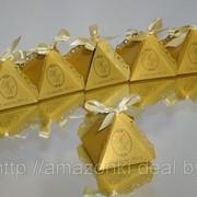 Бонбоньерка Пирамидка фото