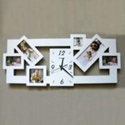 Настенные часы - Фоторамка фото