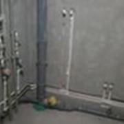 Монтаж внутренних инженерных систем фото