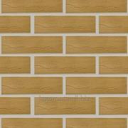 Плитка клинкерная фасадная с ласточкиным хвостом, Шоколад фото