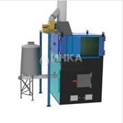Теплогенератор горячего воздуха на твердом топливе марки ПОВ ИНКА фото