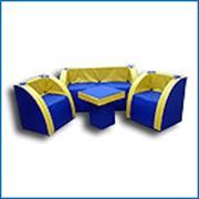Комплект мягкой игровой мебели «Слава» (8-12 лет) фото