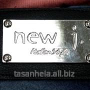 """Фурнитура для одежды с логотипом """"NEW J. ITALIAN STYLE"""" фото"""