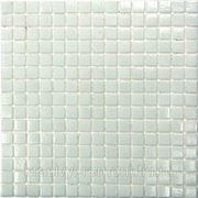 Стеклянная мозаика Simple White (на бумаге) 327*327 фото