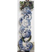 Керамические панно колонна с ангелом фото