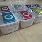 Мр3 плеер дизайн iPod Shuffle + наушники + кабель + коробка фото
