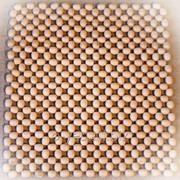 Массажер деревянный для автомобильного кресла MD-1312 фото