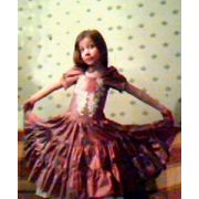 Нарядное платье для девочки 8-10 лет фото