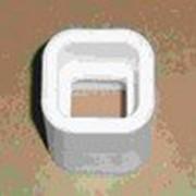 Муфта соединительная квадратная полипропиленовая под сварку фото