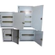 Щит металлический ЩРН-12 накладной PROFI класса (ЗАМОК+ШИНА INSIDE) фото