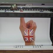 Широкоформатная печать на самоклеющейся пленке фото
