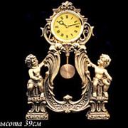 129-014 Часы декоративные настольные 39см. (х6)Полистоун фото