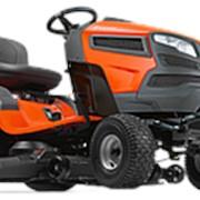 Садовый трактор - газонокосилка Husqvarna TS 243T с сиденьем фото