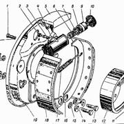 Тормоз передний левый н.о. модель 16-3501011 фото