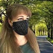 Комплект санитарно-гигиенических защитных масок, трикотаж (10 шт) фото