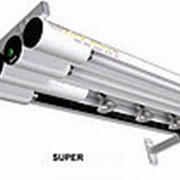SUPER Настенная конструкция «консольного типа» из алюминиевых трубчатых светильников фото