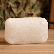Соляное мыло, белая соль, брусок 4?6?10 см фото