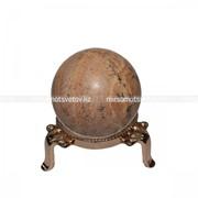 Сувенир Шар Песчаная Яшма 210062 фото