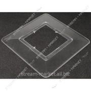 Накладка под выключатель прозрачная кратно 10 ШТ. №170622 фото