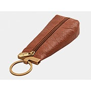 Кожаная ключница «Женева» (коричневый) фото