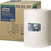 Полотенца протирочные Tork Premium W1/2/3, 1-слойные нетканый материал повышенной прочности, 280л 530137 фото