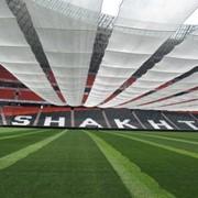 Противосолнечное покрытие для стадионов | Покрытия от солнца фото