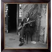 Картина Пожилой гитарист , Смит, Бредли фото