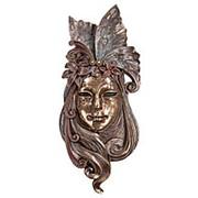 Венецианская маска Лилия большая 22,5х51х8см. арт.WS-349 Veronese фото