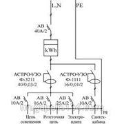Однолинейная схема энергоснабжения фото