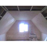 Внутреняя отделка крыши