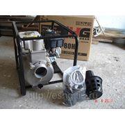 Мотопомпа бензиновая для грязной воды Daishin SWT80HX (Япония)