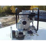 Мотопомпа полугрязевая бензиновая Koshin STH-80X (двиг. Honda) фото