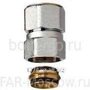 Удлинение прямое М24х19, ВР-НР для медных труб 22 мм, L=30, артикул FC 8850 G2230 фото