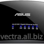 Коммутатор Asus GX-D1051 V3 5port Gigabit, Plastic Case фото