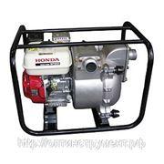 Мотопомпа Honda бензиновая WT20 XK3 DE для грязной воды фото