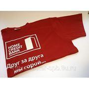 Печать на футболках (шелкография) фото
