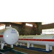 Резервуар для сжиженных углеводородных газов (СУГ) надземный СР053.000.00 фото