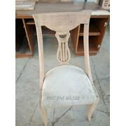 Реставрация деревянного декоративного стула фото